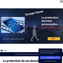 La protection de ses données : escape game (EMI /PIX)