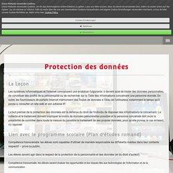 Protection des données - kiknet-edoebs Webseite!