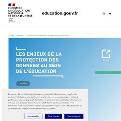 Les enjeux de la protection des données au sein de l'éducation
