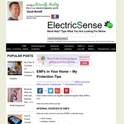EMF Protection In The Home – My Review » www.electricsense.com