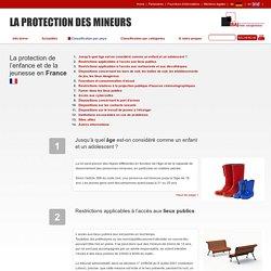 La protection de l'enfance et de la jeunesse en France