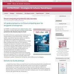 Cloud computing et protection des données