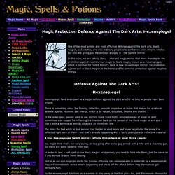 Magic Protection Defence Against The Dark Arts: Hexenspiegel