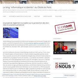 Le projet de règlement européen sur la protection des données à caractère personnel
