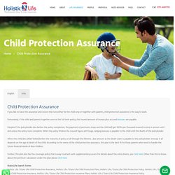 State Life Child Protection Insurance Plans Lahore