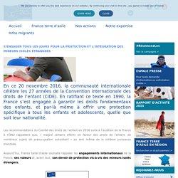 S'engager tous les jours pour la protection et l'intégration des mineurs isolés étrangers - France terre d'asile