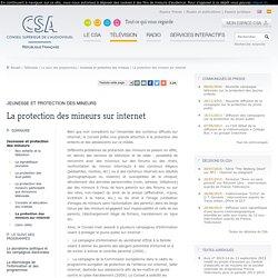 La protection des mineurs sur internet / Jeunesse et protection des mineurs