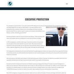 Executive Protection Company Near Me