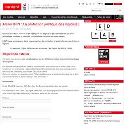 Atelier INPI : La protection juridique des logiciels