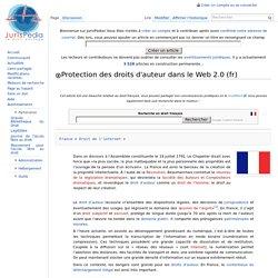 Protection des droits d'auteur dans le Web 2.0
