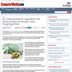 EU data protection regulation will drive privacy by design, says KuppingerCole