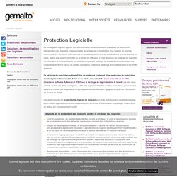 Protection Logicielle & Software Protection
