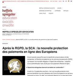 Après le RGPD, la SCA: la nouvelle protection des paiements en ligne des Européens