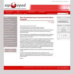 Plus de protection pour le personnel de Cabine d'easyJet - SSP/VPOD - 6, rue des Terreaux du Temple - 1201 Genève