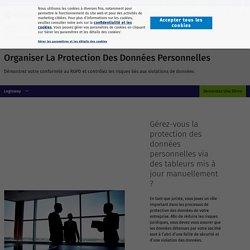 Organiser la protection des données personnelles