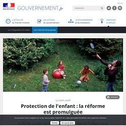 Protection de l'enfant : la réforme est promulguée