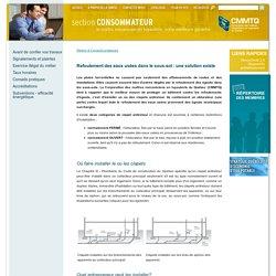 Protection contre le refoulement des eaux usées - CMMTQ