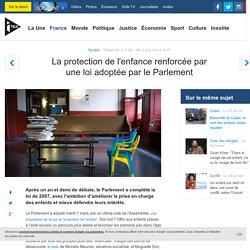 La protection de l'enfance renforcée par une loi adoptée par le Parlement