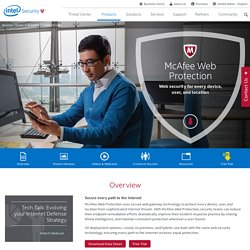McAfee Web Protection – Web Security & Web Filtering