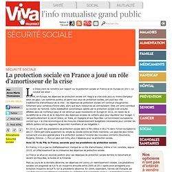 La protection sociale en France a joué un rôle d'amortisseur de la crise