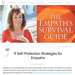9 Self-Protection Strategies for Empaths - Quiet Revolution