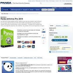 Panda Antivirus Pro 2013 | Antivirus | Firewall | Anti-spyware | Security to buy | Download | Buy | Renew