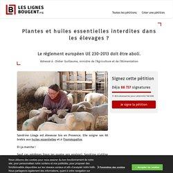 Protection des soins traditionnels dans les élevages