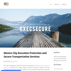Mexico CityExecutive Protection and Secure Transportation Services - ExecSecure