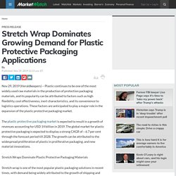 Stretch Wrap Dominates Growing Demand for Plastic Protective Packaging Applications