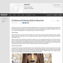 A Protective And Attractive Style for Natural Hair