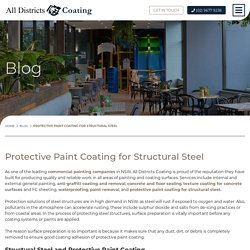 Protective Paint Coating for Structural Steel