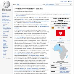 French protectorate of Tunisia