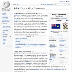 British Central Africa Protectorate