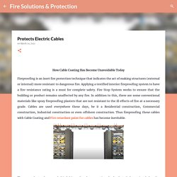 Protects Electric Cables