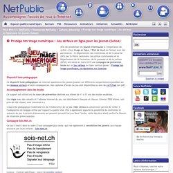 Protège ton image numérique : Jeu sérieux en ligne pour les jeunes (Suisse)