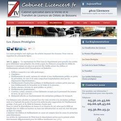Licence 4 - Les Zones Protégées - Réglementations