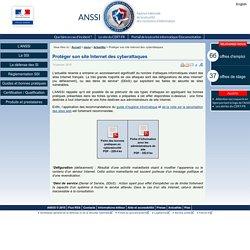 Protéger son site Internet des cyberattaques