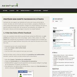 Protéger son compte facebook et sa page personnelle en 5 étapes