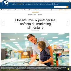 Obésité: mieux protéger les enfants du marketing alimentaire