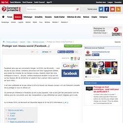 Protéger son réseau social (Facebook...)