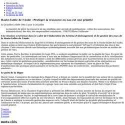 Haute-Vallée de l'Aude : Protéger la ressource en eau est une priorité