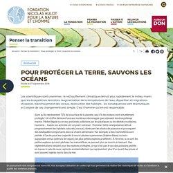 Pour protéger la Terre, sauvons les océans