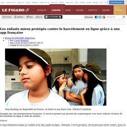 Les enfants mieux protégés contre le harcèlement en ligne grâce à une app française