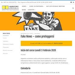 Fake News - come proteggersi - Laboratorio Cirenaica Bologna