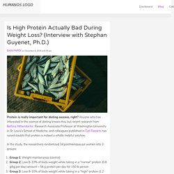 Is High Protein Actually Bad During Weight Loss? (Interview with Stephan Guyenet, Ph.D.)