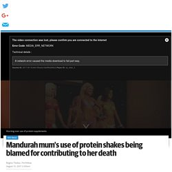 Protein shakes, diet killed Perth mum: Meegan Hefford's family calling for tighter restrictions