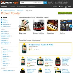 Protein Powder at Mighty Ape NZ