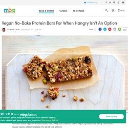 Vegan No-Bake Protein Bar Recipe - mindbodygreen