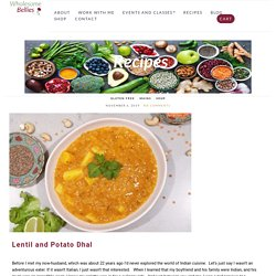 Red Lentil Dhal - Plant Based Protein Recipes