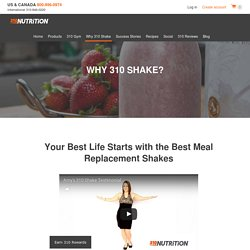 Meal Replacement Shakes Benefits